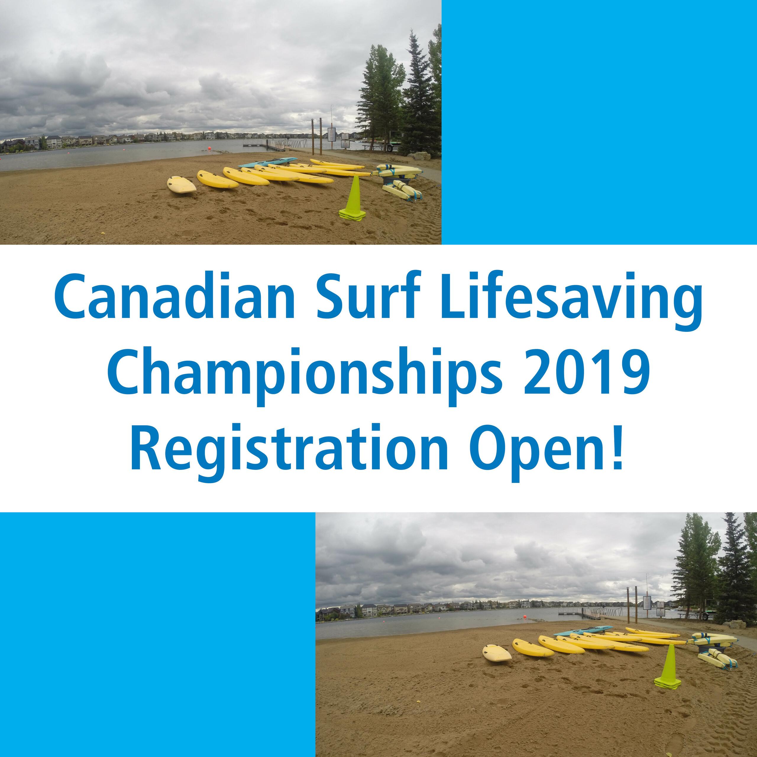 Canadian Surf Lifesaving Championships 2019: News
