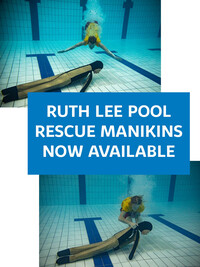 Ruth Lee Pool Rescue Manikins Now Available!